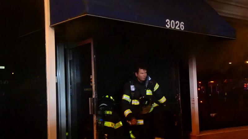 Levittown F D Building Fire 3026 Hempstead Turnpike 11-24-14