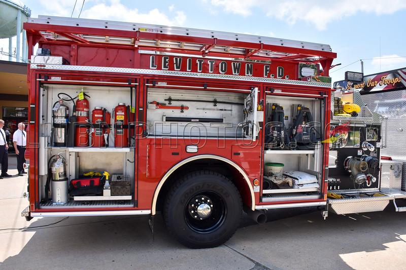 2019 07 07 Levittown F D  Engine Company Seven Wetdown-9