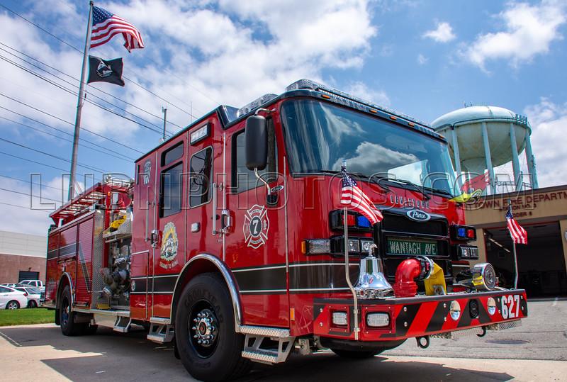 2019 07 07 Levittown F D  Engine Company Seven Wetdown-13