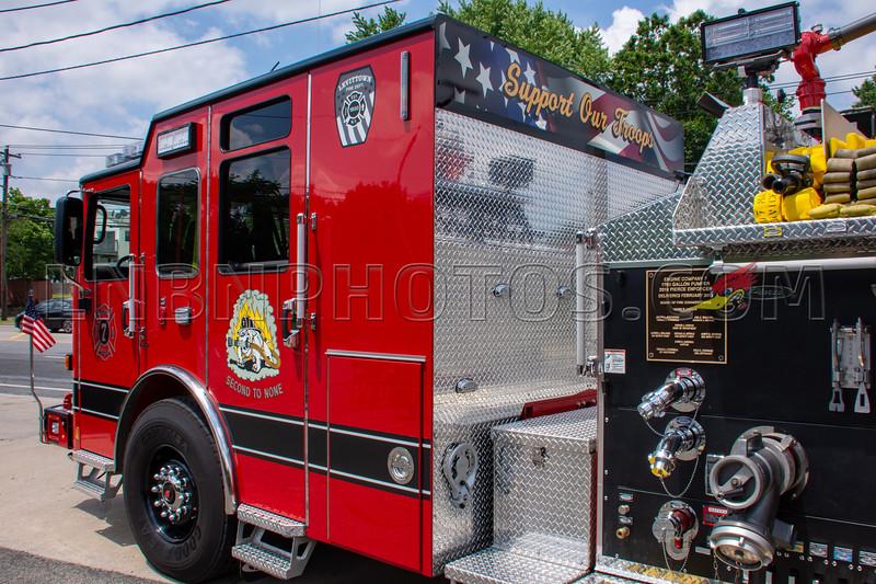 2019 07 07 Levittown F D  Engine Company Seven Wetdown-17