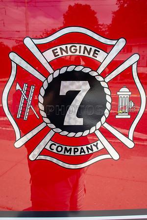 2019 07 07 Levittown F D  Engine Company Seven Wetdown-11