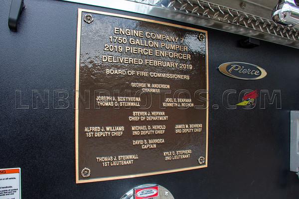 2019 07 07 Levittown F D  Engine Company Seven Wetdown-16