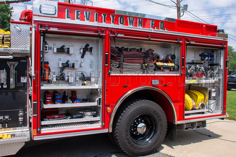 2019 07 07 Levittown F D  Engine Company Seven Wetdown-7