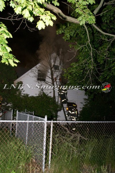 Levittown F D   House Fire 133 Gardiners Ave 5-30-12-1