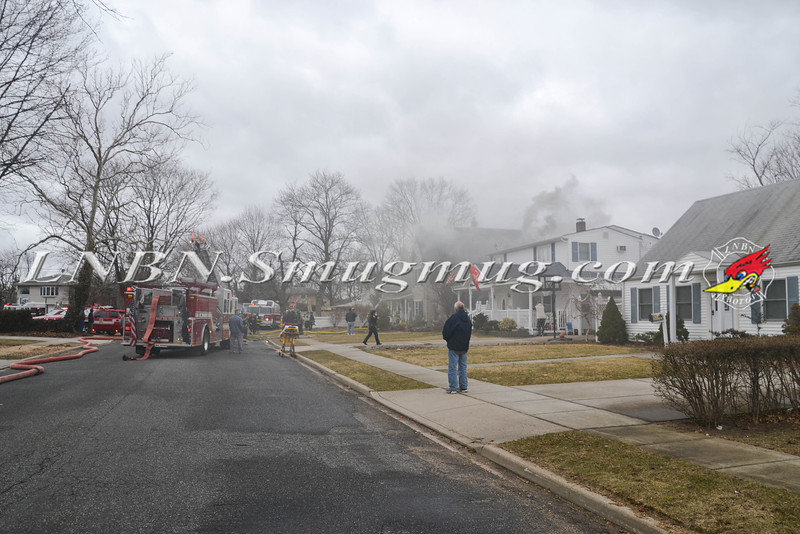 Levittown F D House Fire 89 Carnation Rd 3-6-2013