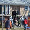 Massapequa F D  49 Melrose Ave  House fire 2-22-12-4