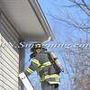 Massapequa F D  49 Melrose Ave  House fire 2-22-12-12