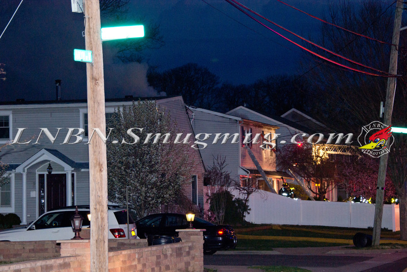 Massapequa F D  House Fire 159 Arlyn Dr  W  3-24-12-1