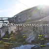 Massapequa F D  House Fire 54 Eastlake Ave  2-22-14-10