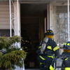 Massapequa F D  House Fire 54 Eastlake Ave  2-22-14-7