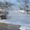 Massapequa F D  Oil Truck Fire Merrick Rd   2-16-14-11