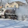 Massapequa F D  Oil Truck Fire Merrick Rd   2-16-14-8