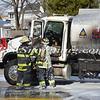 Massapequa F D  Oil Truck Fire Merrick Rd   2-16-14-10