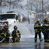 Massapequa F D  Oil Truck Fire Merrick Rd   2-16-14-14