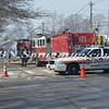 Massapequa F D  Oil Truck Fire Merrick Rd   2-16-14-2
