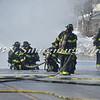 Massapequa F D  Oil Truck Fire Merrick Rd   2-16-14-4