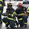 Massapequa F D Car Fire Camp Rd & Joyce Ave 1-28-2014-11