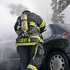 Massapequa F D Car Fire Camp Rd & Joyce Ave 1-28-2014-8