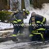 Massapequa F D Car Fire Camp Rd & Joyce Ave 1-28-2014-16