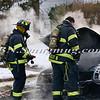 Massapequa F D Car Fire Camp Rd & Joyce Ave 1-28-2014-17