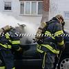 Massapequa F D Car Fire Camp Rd & Joyce Ave 1-28-2014-9