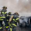 Massapequa F D Car Fire Camp Rd & Joyce Ave 1-28-2014-4