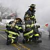 Massapequa F D Car Fire Camp Rd & Joyce Ave 1-28-2014-7