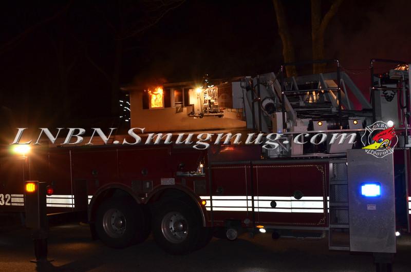 Massapequa F D  Working Fire 97 Van Buren St  2-20-13-1