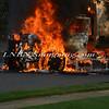 Massapequa F D  Garbage Truck Fire IFO 5 West End Ave  8-17-12-7