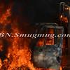 Massapequa F D  Garbage Truck Fire IFO 5 West End Ave  8-17-12-10
