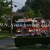 Massapequa F D  Garbage Truck Fire IFO 5 West End Ave  8-17-12-14