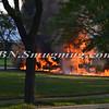 Massapequa F D  Garbage Truck Fire IFO 5 West End Ave  8-17-12-1