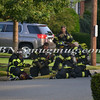 Massapequa F D  Garbage Truck Fire IFO 5 West End Ave  8-17-12-17