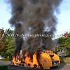 Massapequa F D  Garbage Truck Fire IFO 5 West End Ave  8-17-12-19