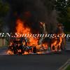 Massapequa F D  Garbage Truck Fire IFO 5 West End Ave  8-17-12-3
