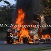 Massapequa F D  Garbage Truck Fire IFO 5 West End Ave  8-17-12-11
