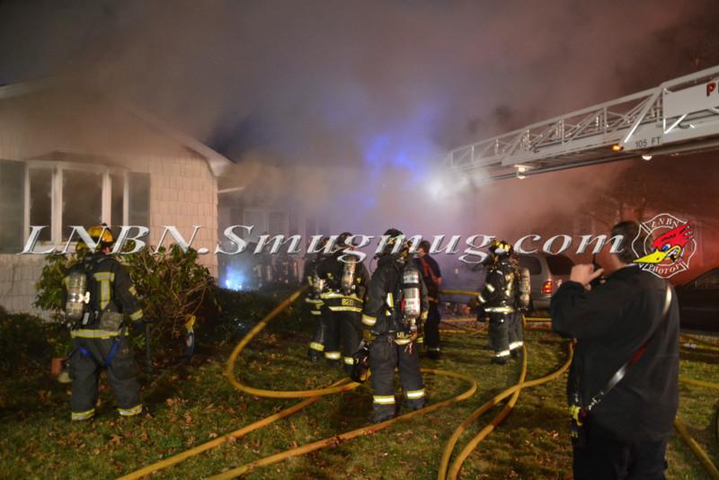 Plainview F D  House Fire 22 Brook Path 3-20-12-3