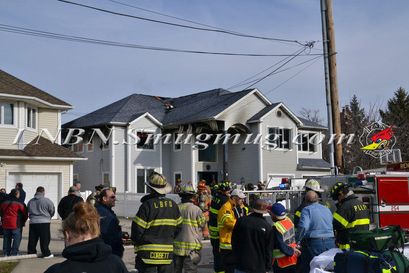 Point Lookout - Lido F D  House Fire 5 Redan Rd  12-30-11-1