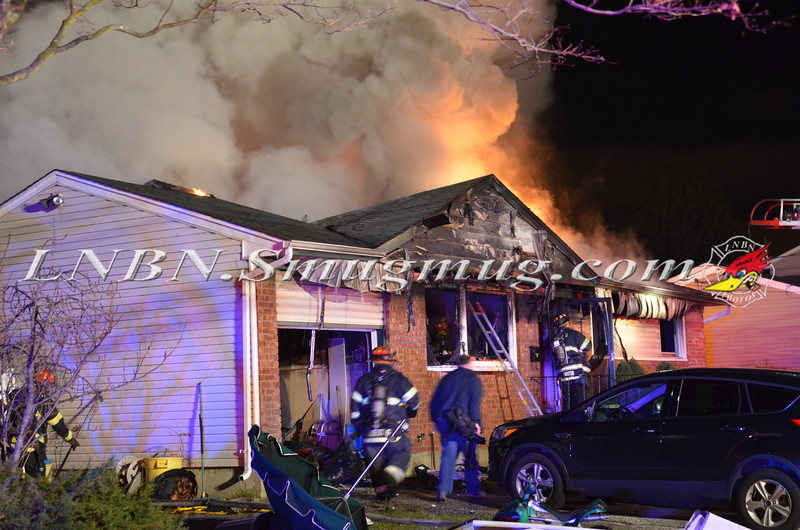 South Farmingdale F D  House Fire 346 Balchen Street 12-19-14-1