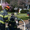 Syosset F D  House Fire 3 Fams Court 4-4-12-8