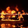 Uniondale F D   Double Car Fire 5-28-12-4