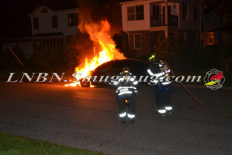 Wantagh F D  Car Fire Stratford Rd cs Wantagh Avenue 7-3-12-1