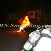 Wantagh F D  Car Fire Stratford Rd cs Wantagh Avenue 7-3-12-2