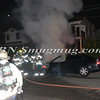 Wantagh F D  Car Fire Stratford Rd cs Wantagh Avenue 7-3-12-4