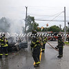 Wantagh F D  Car Fire Wantagh Ave c-s Miller Place 8-14-12-12
