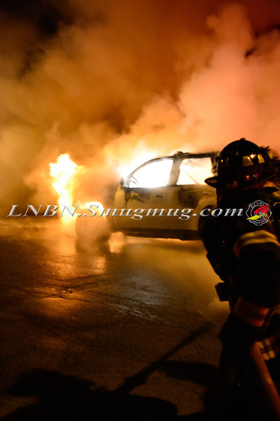 Wantagh F D Car Fire 3779 Hunt  rd 11-29-13-2