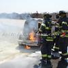 Wantagh F D  Car Fire Jones Beach E-B Bay Drive west of Field 10 4-28-13-19
