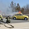 Wantagh F D  Car Fire Jones Beach E-B Bay Drive west of Field 10 4-28-13-2