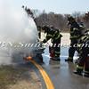 Wantagh F D  Car Fire Jones Beach E-B Bay Drive west of Field 10 4-28-13-17