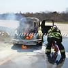 Wantagh F D  Car Fire Jones Beach E-B Bay Drive west of Field 10 4-28-13-20